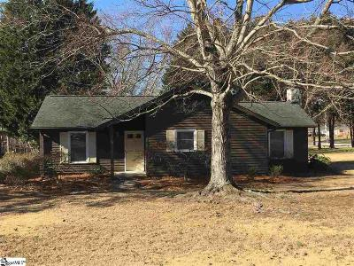 Taylors Single Family Home For Sale: 125 Trent