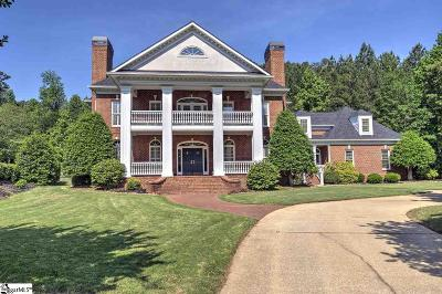 Greer SC Single Family Home For Sale: $1,250,000