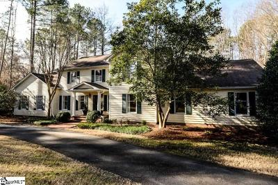 Spartanburg Single Family Home For Sale: 10 Four Mile Branch