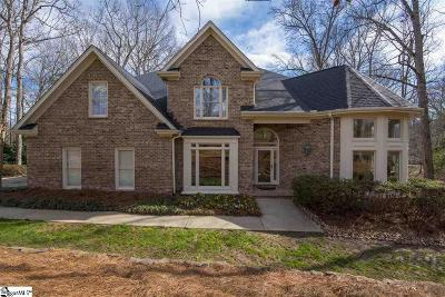 Greenville SC Single Family Home For Sale: $599,900