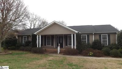 Greenville County Single Family Home Contingency Contract: 101 Governors Square