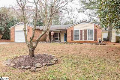 Greenville County Single Family Home Contingency Contract: 121 Burlington