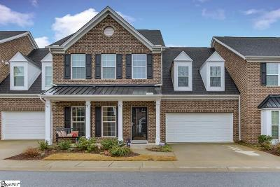 Simpsonville Condo/Townhouse For Sale: 222 Bickleigh