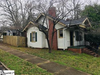 Greenville Single Family Home For Sale: 501 Wilton