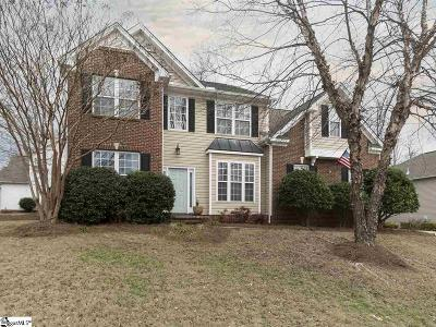 Simpsonville Single Family Home For Sale: 704 Kingsmoor
