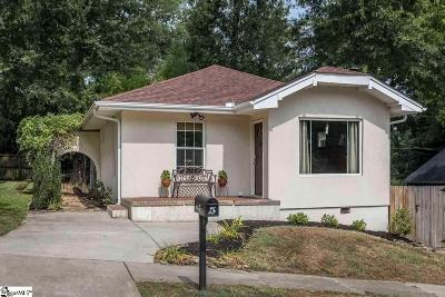 Greenville Single Family Home For Sale: 5 McDonald