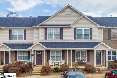 Greenville Condo/Townhouse For Sale: 705 Rock Hill
