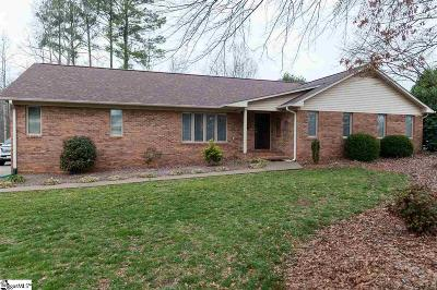 Inman Single Family Home For Sale: 204 Lakewinds