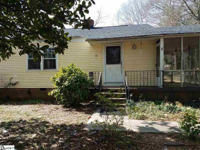 Greenville Single Family Home For Sale: 411 Crosby