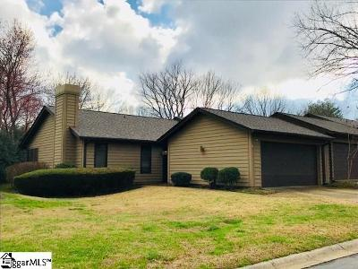 Greer Condo/Townhouse For Sale: 615 Tanager