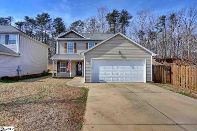Greer Single Family Home For Sale: 139 Cosmos