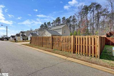 Greer Residential Lots & Land Contingency Contract: 141 Cosmos