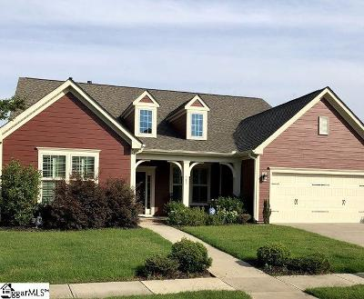 Simpsonville Single Family Home For Sale: 301 Clairhill