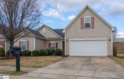 Greenville County Single Family Home Contingency Contract: 114 Constantine