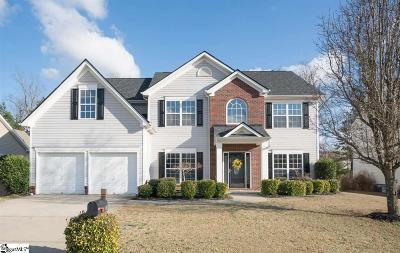 Simpsonville Single Family Home For Sale: 8 Springleaf