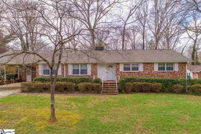 Greenville SC Single Family Home Contingency Contract: $200,000