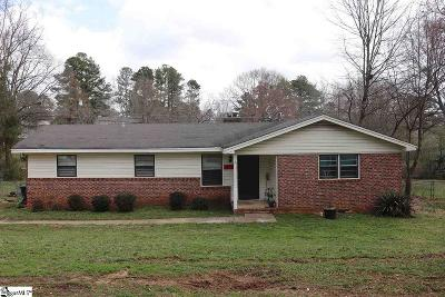 Simpsonville Single Family Home For Sale: 419 Cheyenne