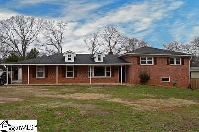 Mauldin Single Family Home For Sale: 317 Elm