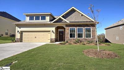 Duncan SC Single Family Home For Sale: $239,190