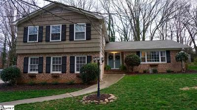 Greenville SC Single Family Home For Sale: $297,000