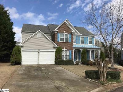 Greenville County Single Family Home For Sale: 19 Breckenridge