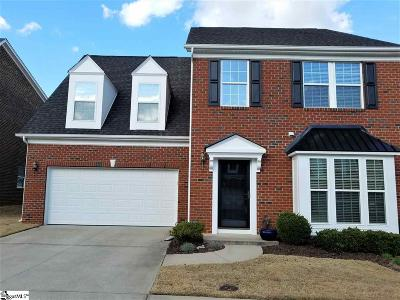 Simpsonville Condo/Townhouse For Sale: 8 Dillworth
