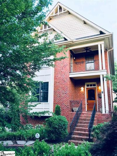 Greenville County Single Family Home For Sale: 5 W Prentiss