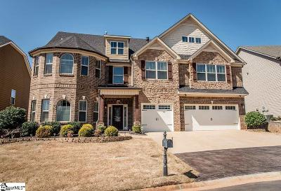 Simpsonville Single Family Home For Sale: 120 Fort