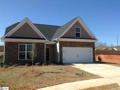 Simpsonville Single Family Home For Sale: 27 Fowler Oaks #Lot 62