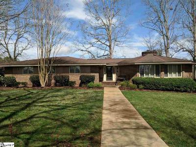 Easley Single Family Home For Sale: 3113 Pelzer