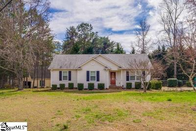 Travelers Rest Single Family Home Contingency Contract: 201 Cox Ridge