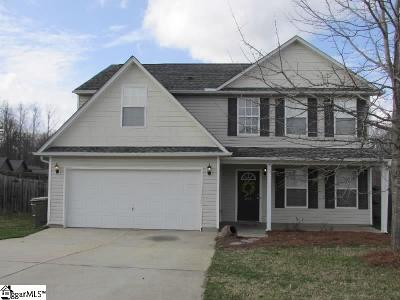Fountain Inn Single Family Home Contingency Contract: 220 Catterick