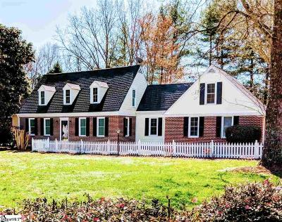 Clemson Single Family Home Contingency Contract: 300 Princess Grace