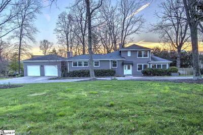 Greer SC Single Family Home For Sale: $330,000