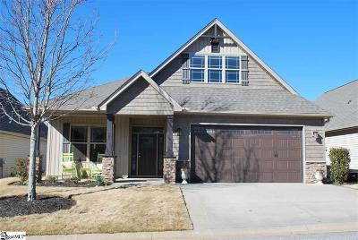 Greer Single Family Home For Sale: 605 Castlestone