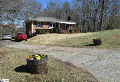Greenville County Single Family Home For Sale: 41 Sulphur Springs