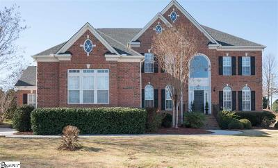 Simpsonville Single Family Home For Sale: 4 Glengrove