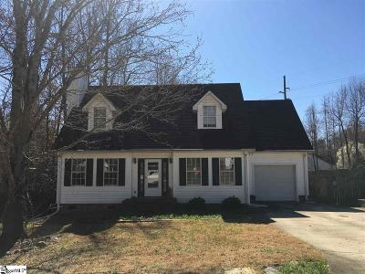 Travelers Rest Single Family Home For Sale: 102 Brandt