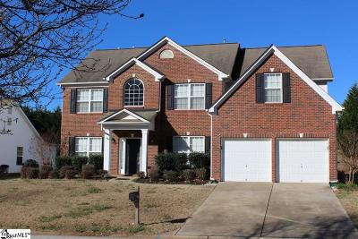 Greenville County Single Family Home For Sale: 410 Summergreen