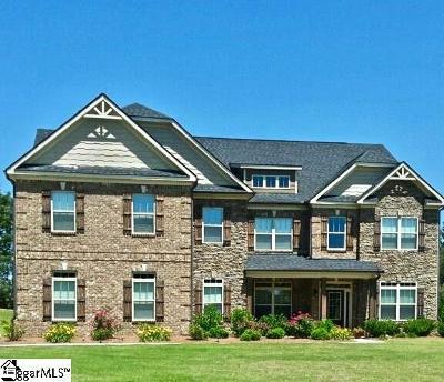 Easley Single Family Home For Sale: 1016 Shoal Creek