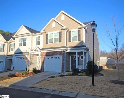 Simpsonville Condo/Townhouse For Sale: 185 Shady Grove