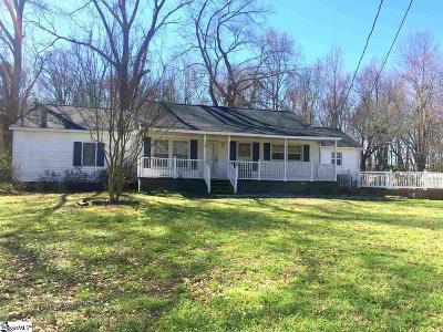 Simpsonville Single Family Home For Sale: 128 Hunter