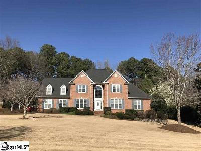 Spartanburg Single Family Home Contingency Contract: 90 Brandermill