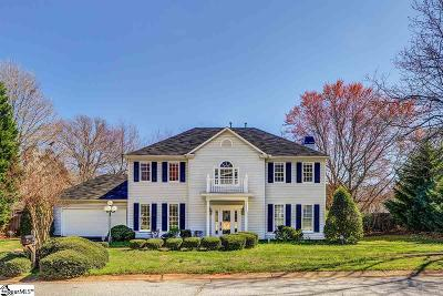 Greenville County Single Family Home Contingency Contract: 6 Rosebank