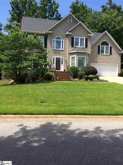 Greer Single Family Home For Sale: 421 River Way