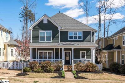 Greenville Single Family Home For Sale: 10 Ridenour