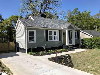 Greenville SC Single Family Home For Sale: $275,000