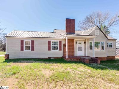 Spartanburg Single Family Home For Sale: 386 Cherry Hill