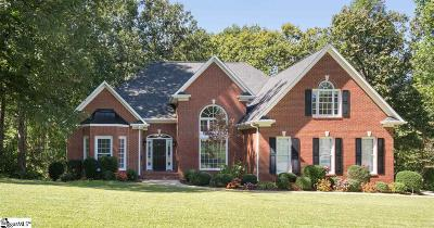 Greer SC Single Family Home For Sale: $524,900