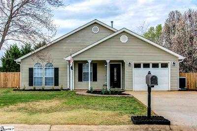 Fountain Inn Single Family Home Contingency Contract: 612 Sweet William